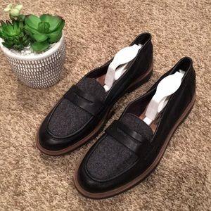 Women's Black Clarks Loafers